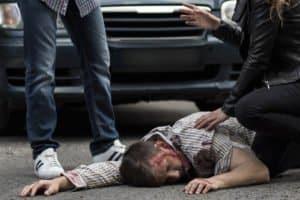 Beim Unfall gilt: Hilfe leisten