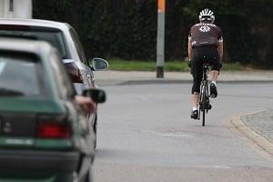 Fahrradfahrer werden oft in einen Unfall in Dresden verwickelt.