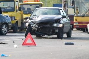 Kam es zum Unfall mit einem Taxi, müssen Sie ebenfalls die Unfallstelle absichern.