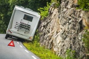 Nach einen Unfall gelten in Norwegen die gleichen Verhaltensvorschriften wie in Deutschland.
