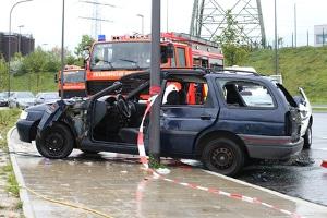 Nach dem Unfall Zeugenaussage tätigen