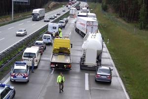 Unfallstatistik: Die Autobahn stellt einen zentralen Bestandteil dar.