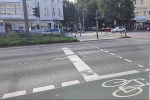 Der Unterschied zwischen Haltelinie und Sichtlinie - die eine ist auf die Straße gemalt, die andere entsteht im Kopf.