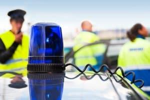 Unzulässiges Blaulicht: Der Einsatz eines selbstgebauten Blaulichts wird in der Regel strafrechtlich verfolgt.