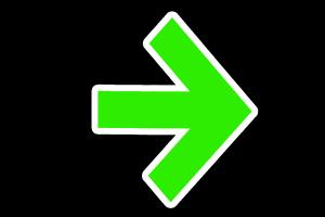 Der Grünpfeil gehört zu den Verkehrseinrichtungen.