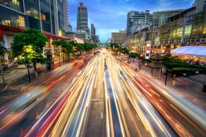 Verkehrsordnungswidrigkeit im Straßenverkehr: Überhöhte Geschwindigkeit gehört zu den häufigsten Delikten.
