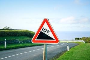 Verkehrsschilder sind Teil der Straßenausstattung.