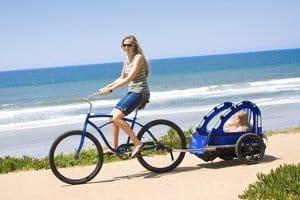 Ein verkehrssicheres Fahrrad darf einen Anhänger ziehen, wenn bestimmte Regeln beachtet werden.