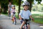 Verkehrssicherheit für Kinder auf dem Fahrrad