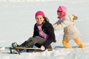 Die Sichtbarkeit spielt eine wichtige Rolle bei der Verkehrssicherheit im Winter.