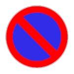 Verkehrszeichen Halten verboten