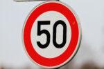 Verkehrszeichen Tempo 50