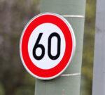 Verkehrszeichen Tempo60
