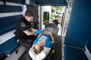 Multiple Brüche sind häufige Verletzungen bei einem Motorradunfall