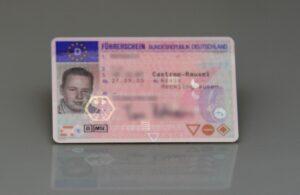 Voraussetzung für den Führerschein