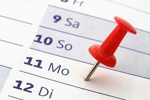 Im Vorvertrag für den Autokauf legen Sie fest, bis wann der Hauptvertrag abgeschlossen werden muss.