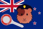Die Polizei in Neuseelands Hauptstadt Wellingten hat einen neuen tierischen Unterstützer: Wachtmeister Elliot.