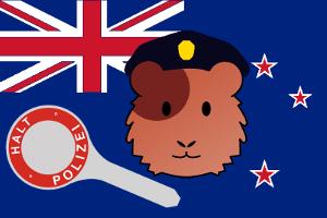 Die Polizei in Neuseelands Hauptstadt Wellington hat einen neuen tierischen Unterstützer: Wachtmeister Elliot.