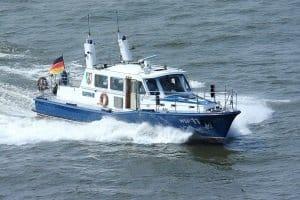 Verkehrskontrolle auf dem Wasser: Hier ist die Wasserschutzpolizei zuständig.