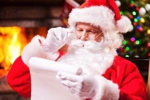 Ob der Weihnachtsmann sein Bußgeld zahlt, wenn die Behörde es sich ganz sehnlichst wünscht?