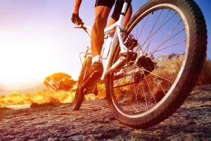 Winterreifen am Fahrrad