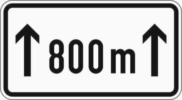 Zusatzzeichen 1001