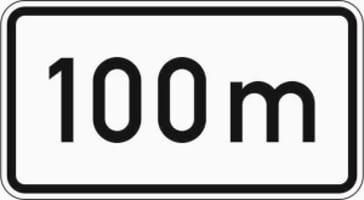 Zusatzzeichen 1004